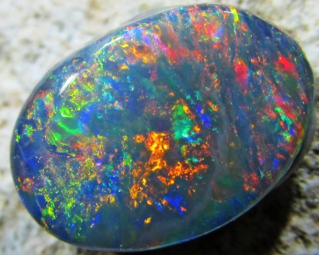 Multiple Fire  HuesBlack opal QOM1574