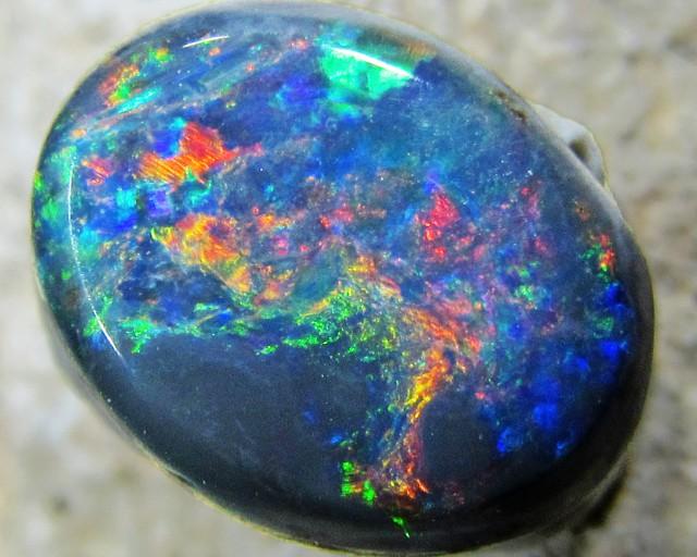 Multiple Fire  HuesBlack opal QOM1583
