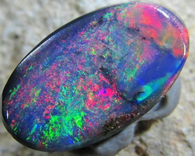 Multiple Fire  HuesBlack opal QOM1585