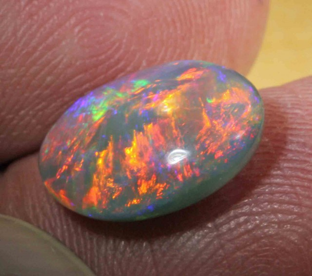5.0 CTS BRILLIANT BLACK OPAL FROM LR - TOP 537939