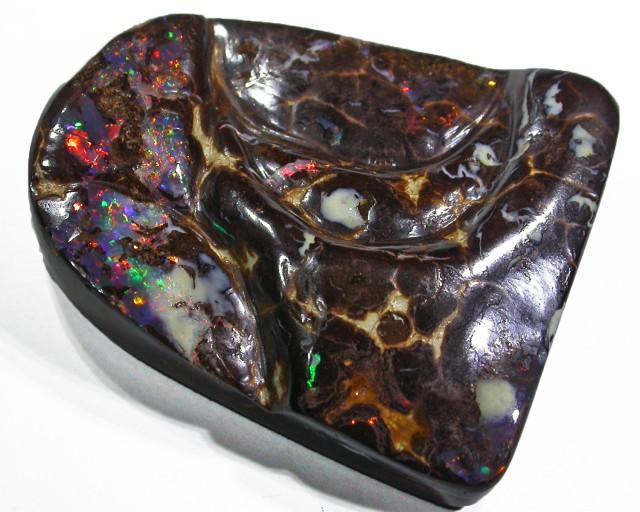 Boulder opal Unique carving AGR2006