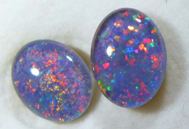 OPAL TRIPLET PAIR 2.40 CTS LO-2251