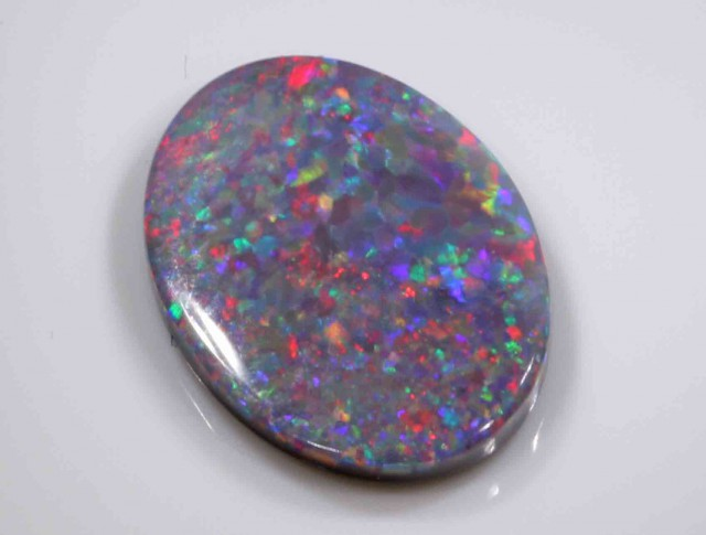 FREE SHIPPING  2.35 ct BLACK OPAL FROM LR