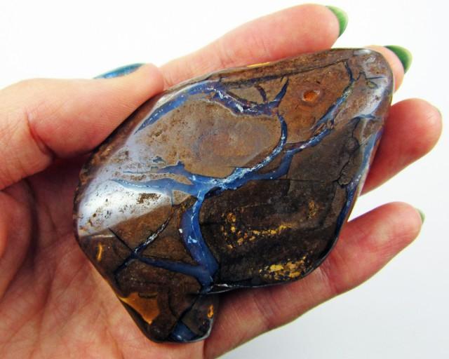 Solid  Polished Boulder Opal  Specimen  BU 151