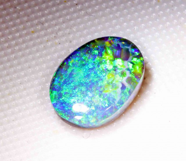 FREE SHIPPING  3.45 CT BLACK OPAL FROM LR