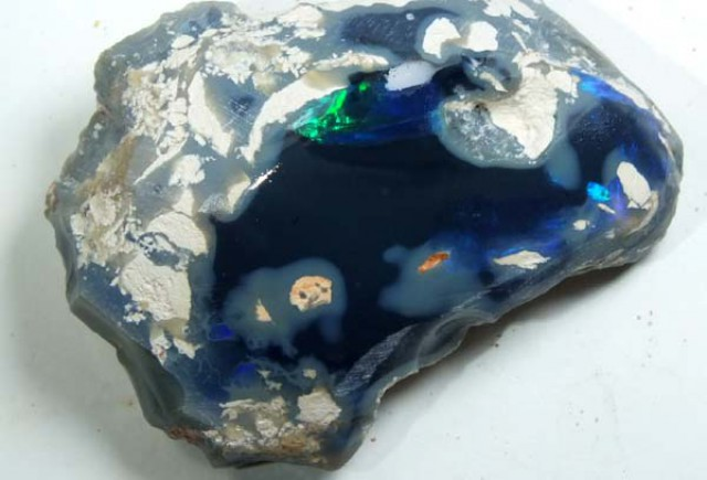 OPAL ROUGH FROM LIGHTNING RIDGE125 CTS  GC