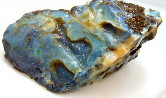 BOULDER OPAL ROUGH  260 CTS DT-4427