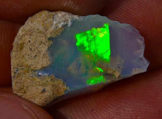 5.5ct Quality Rough Ethiopian Wello Opal Specimen
