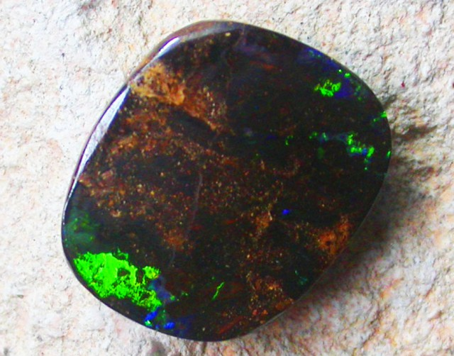 7.95 CTS POLISHED YOWAH OPAL-FREE SHIPPING [LMS273]