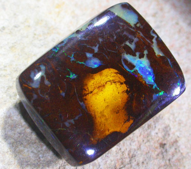 49.50 CTS POLISHED YOWAH OPAL-FREE SHIPPING [LMS286]