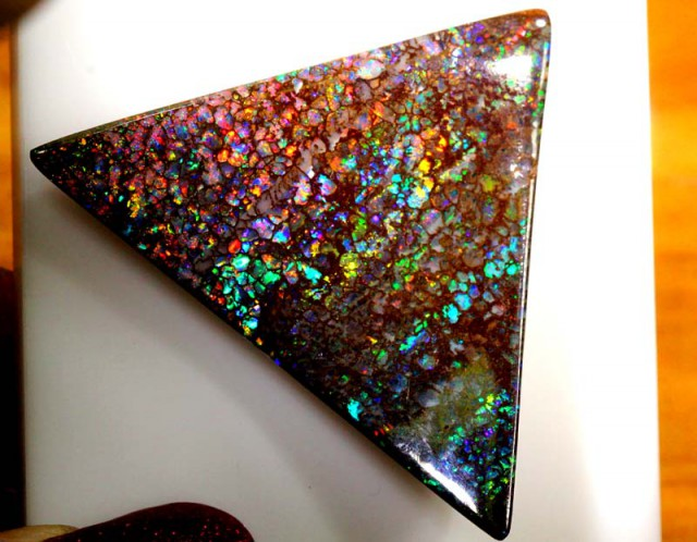 BOULDER OPAL POLISHED STONE 73.90 CTS  GC