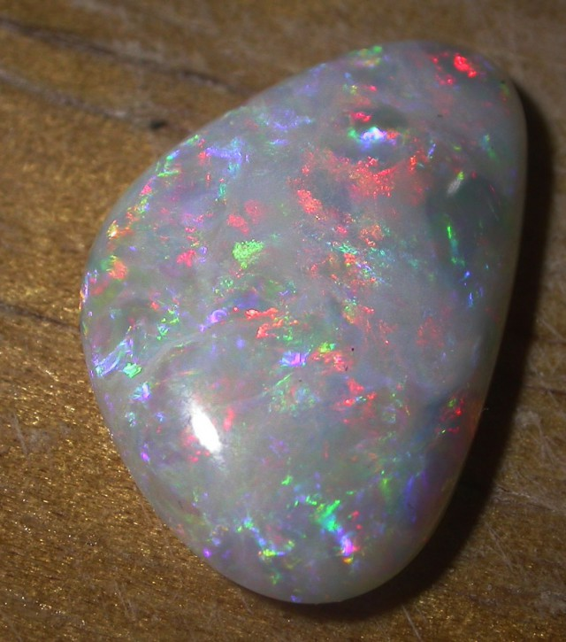 7.75 CTS WHITE  OPAL COOBER PEDY [Q2232]sh
