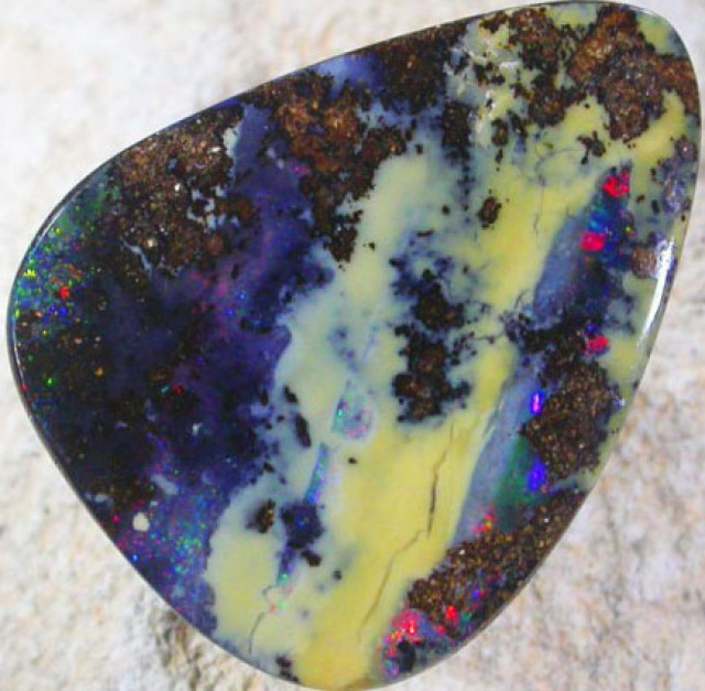 31.25 CTS BOULDER OPAL-FREE SHIPPING. [LMS354]