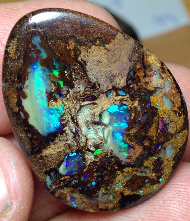 BARGAIN BUY IT NOW Boulder Opal Picture Stone AB441 45cts