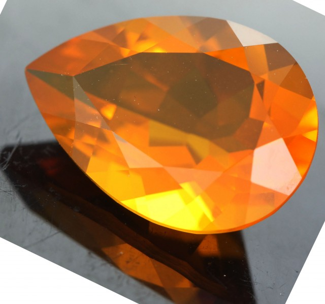3.45  CTS FACETED FIRE OPAL FROM WEST AUSTRALIA [SHF1 ]