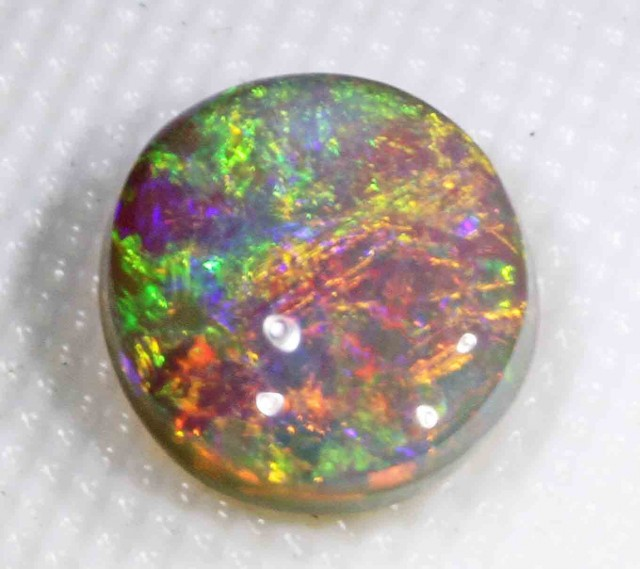 2.90 ct BLACK CRYSTAL OPAL FROM LR
