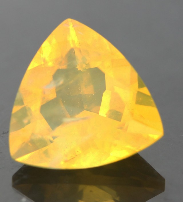 1.16 CTS FACETED FIRE OPAL FROM  WEST AUSTRALIA [SHF9 ]