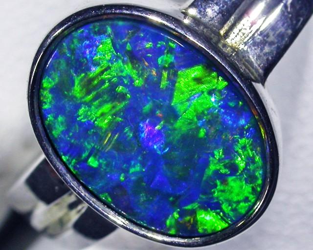 gem doublet  Opal Ring  BU 419