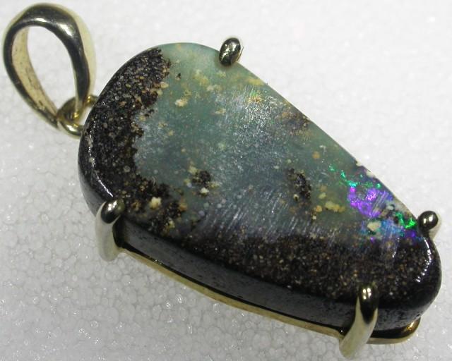 Boulder Opal Pendnat  GP BU 422