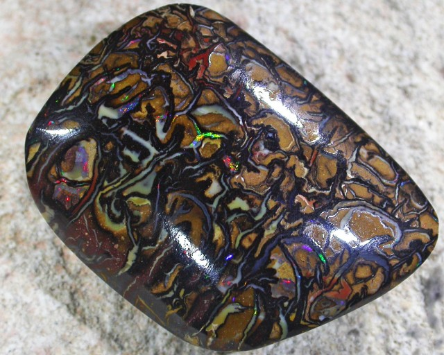 RED SHIMMER FLASH KOROIT TOP END OPAL R 2047