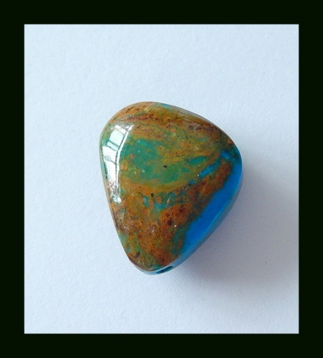 22cts Natural Blue Opal Freeform Bead