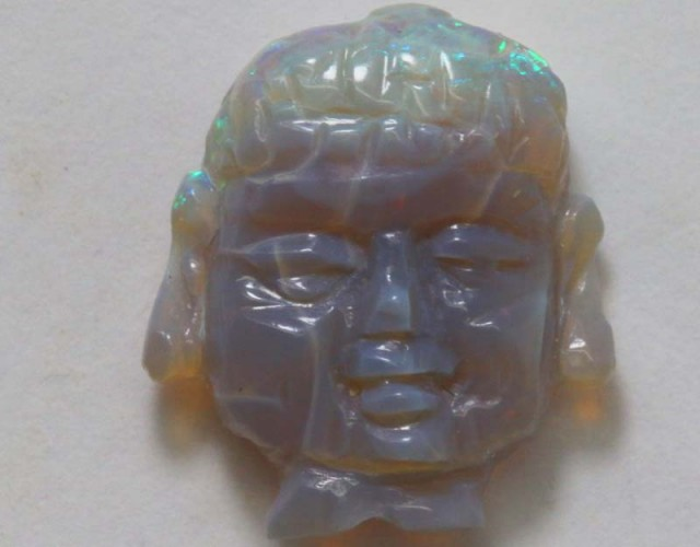 OPAL CARVING 3.40  CTS LO-3174