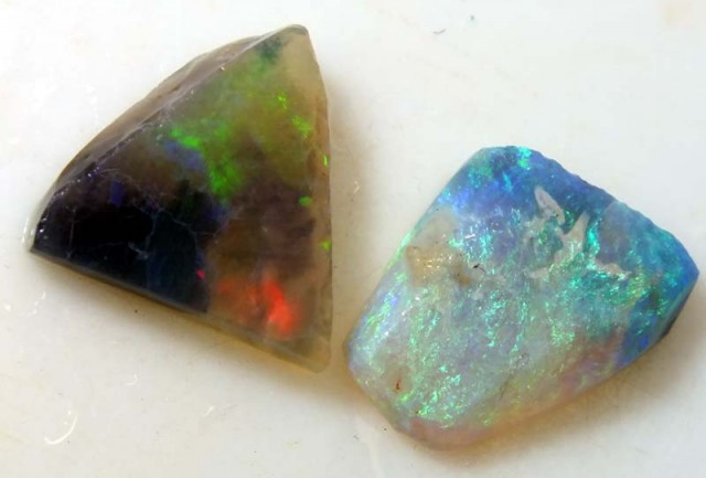 5.0 CTS BLACK OPAL RUB PARCEL (3 PCS)  DT-5058