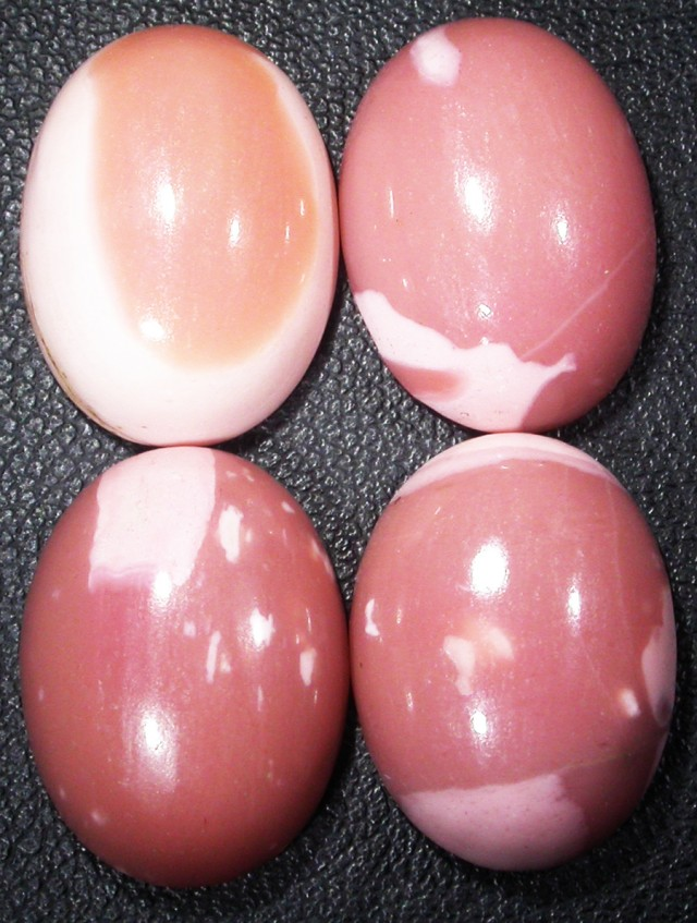 46.05 CTS  18X12mm  AUSTRALIAN  PINK/ORANGE OPAL PARCEL [VS6854 ]