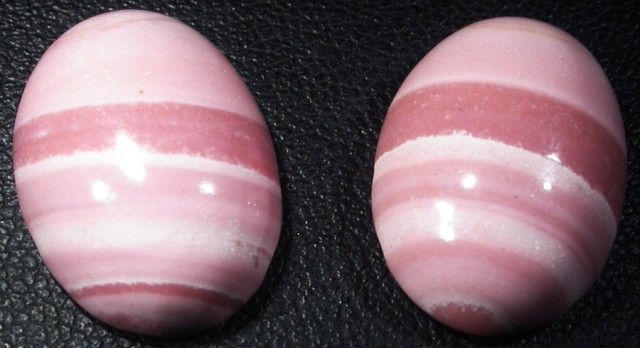 18.35 CTS  18X12mm  AUSTRALIAN  PINK OPAL PAIR [VS6867 ]