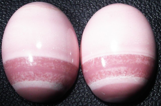 18.10 CTS  18X12mm  AUSTRALIAN  PINK OPAL PAIR [VS6876 ]