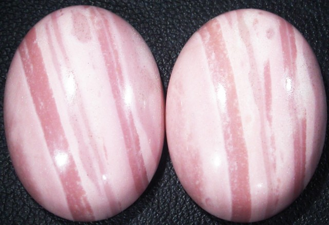 47.85 CTS  25X18mm  AUSTRALIAN  PINK OPAL PAIR [VS6887 ]
