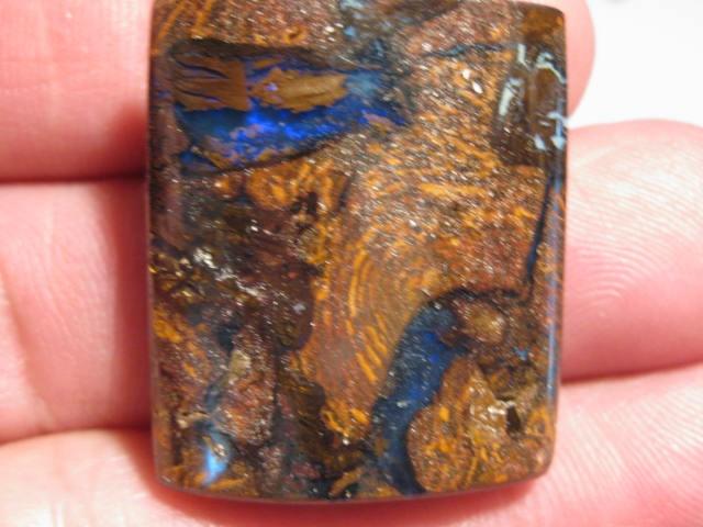 YowahOpals*65.2Cts - Matrix Opal / Opalized Wood