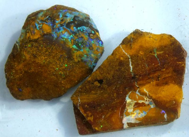 49CTS YOWAH OPAL ROUGH(2-pcs)  DT-5691