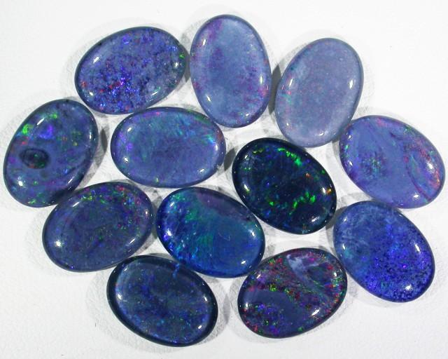 40.2 Cts Parcel 12 large Opal triplets  BU 817