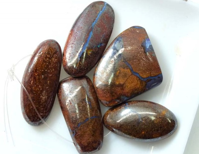 BOULDER OPAL POLISHED DRILLED(PARCLE) 110 CTS ADO-2922