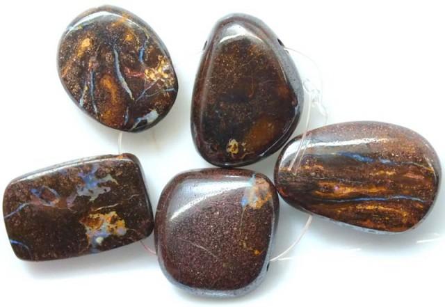 BOULDER OPAL POLISHED DRILLED(PARCLE) 440 CTS ADO-2928