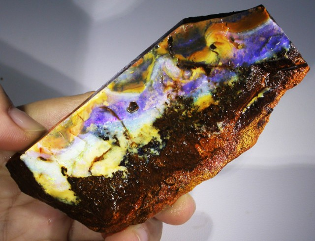 765 CTS BOULDER OPAL SPECIMEN-NATURAL POLISH [BY5003 ]