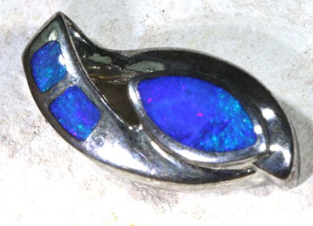 OPAL SILVER PENDANT  7.75    CTS  OF-1132