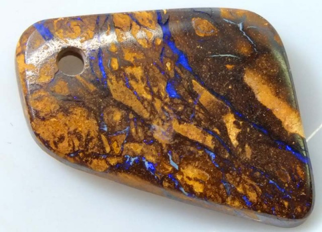 BOULDER OPAL STONE DRILLED PENDANT 23  CTS ADO-2959