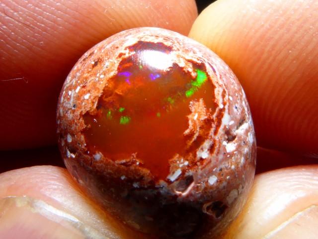 6ct Mexican Matrix Opal Landscape Cantera