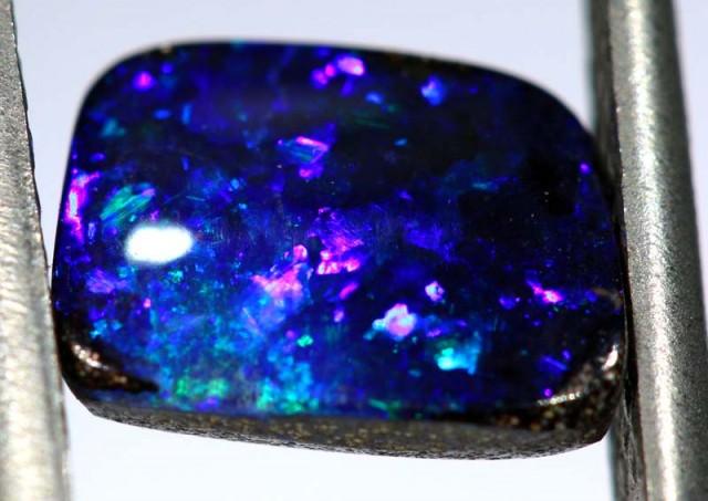 2.40 CTS Natural Australian Boulder Opal Solid Stone PARCEL  C-297