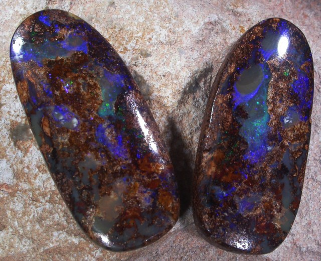 65.05 CTS YOWAH OPAL PAIR-STUNNING ' [SO6531]
