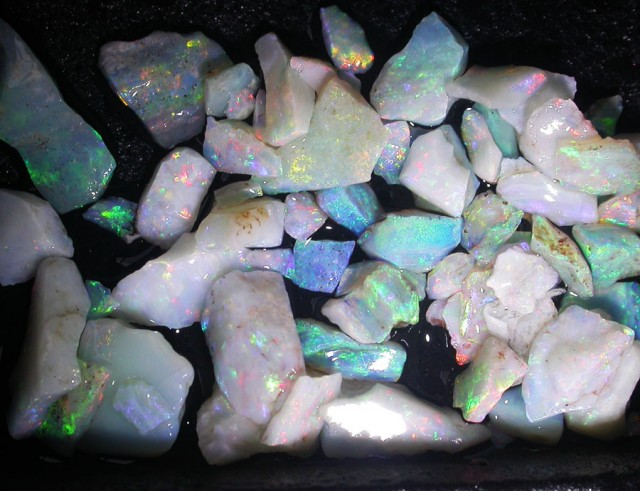 25 CTS OPAL INLAY FROM COOBER PEDY [BR3701]