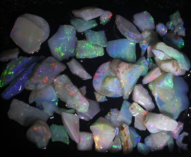 23 CTS OPAL INLAY FROM COOBER PEDY [BR3702]