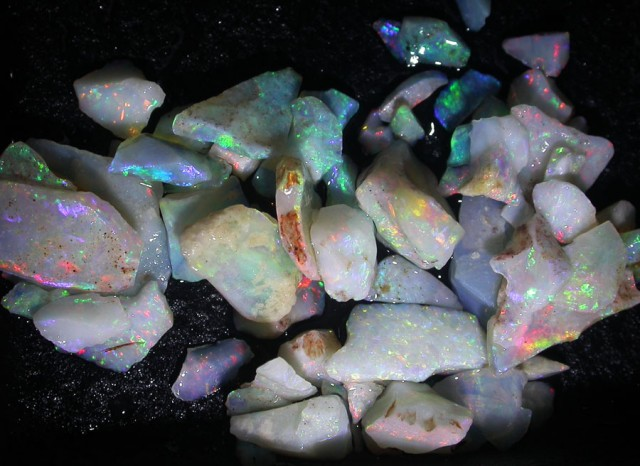 26 CTS OPAL INLAY FROM COOBER PEDY [BR3703]