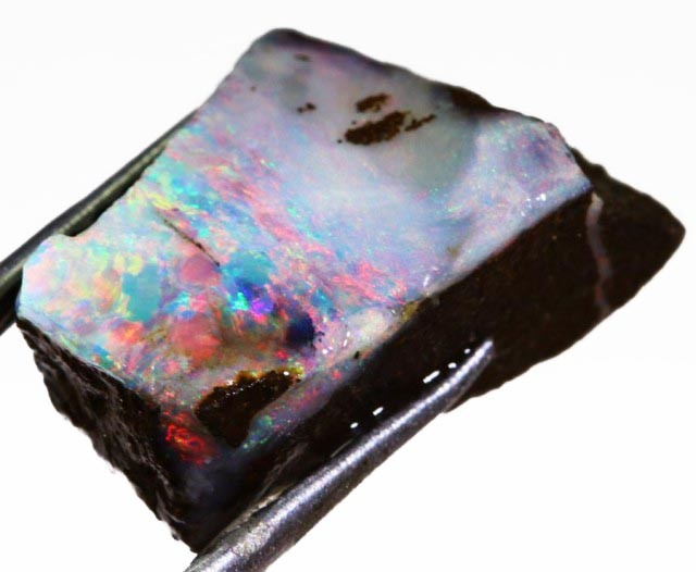 8.05 CTS  BOULDER OPAL ROUGH -PRE SHAPED-OLD STOCK [BY4647 ]