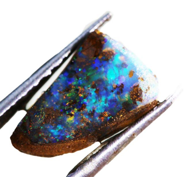 1.80 CTS  BOULDER OPAL ROUGH -PRE SHAPED-OLD STOCK [BY4663 ]