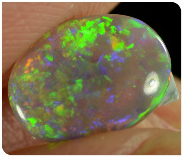 0.70ct Crystal Opal - ID:20035 Gem with all the colour of rainbow