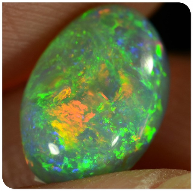 1.45ct Crystal Opal - ID:20538 TOP Gem quality with all the COLOURS