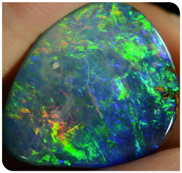 10.54ct Boulder Opal - ID:20095 TOP QUALITY boulder opal gem